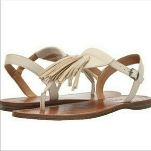 Lucky Brand Tassel Sandals